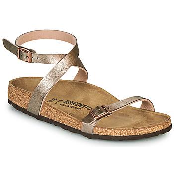 Schuhe Damen Sandalen / Sandaletten Birkenstock DALOA Bronze