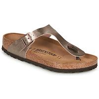 Schuhe Damen Zehensandalen Birkenstock GIZEH Bronze