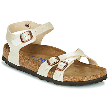 Schuhe Damen Sandalen / Sandaletten Birkenstock KUMBA SFB Beige