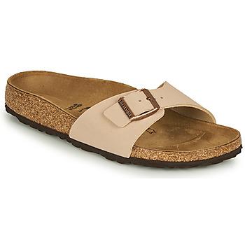 Schuhe Damen Pantoffel Birkenstock MADRID Beige