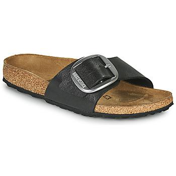 Schuhe Damen Pantoffel Birkenstock MADRID BIG BUCKLE Grau