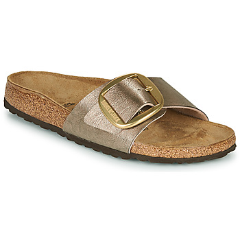 Schuhe Damen Pantoffel Birkenstock MADRID BIG BUCKLE Maulwurf / Bronze