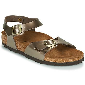 Schuhe Damen Sandalen / Sandaletten Birkenstock RIO Bronze