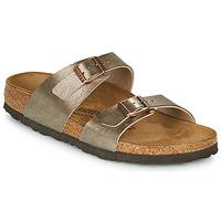 Schuhe Damen Pantoffel Birkenstock SYDNEY Bronze
