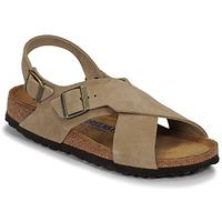 Schuhe Damen Sandalen / Sandaletten Birkenstock TULUM SFB LEATHER Maulwurf
