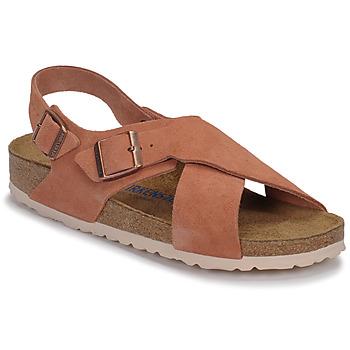 Schuhe Damen Sandalen / Sandaletten Birkenstock TULUM SFB LEATHER Rot / Rot