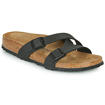 Schuhe Damen Pantoffel Birkenstock YAO BALANCE Schwarz