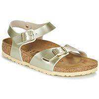 Schuhe Mädchen Sandalen / Sandaletten Birkenstock RIO Gold