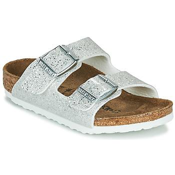 Schuhe Mädchen Pantoffel Birkenstock ARIZONA Cosmic / Weiss