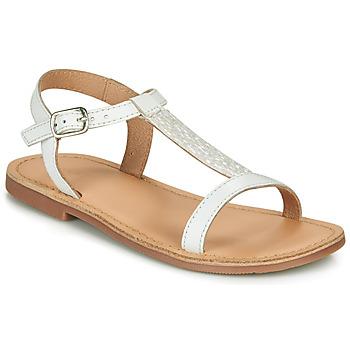 Schuhe Mädchen Sandalen / Sandaletten André ASTRID Weiss