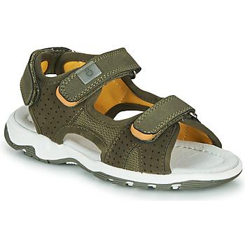 Schuhe Jungen Sandalen / Sandaletten André PIETRO Kaki