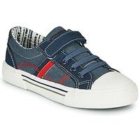 Schuhe Jungen Sneaker Low André ALAN Blau