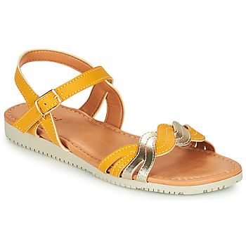Schuhe Mädchen Sandalen / Sandaletten André TRESSIA Gelb