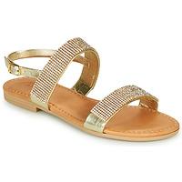 Schuhe Mädchen Sandalen / Sandaletten André DORIANNE Goldfarben