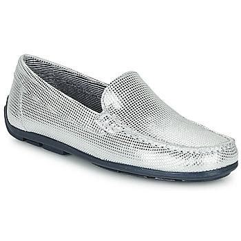 Schuhe Mädchen Slipper André MANU Silbern