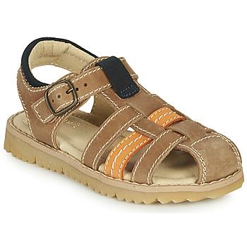 Schuhe Jungen Sandalen / Sandaletten André LEOPAUL Braun