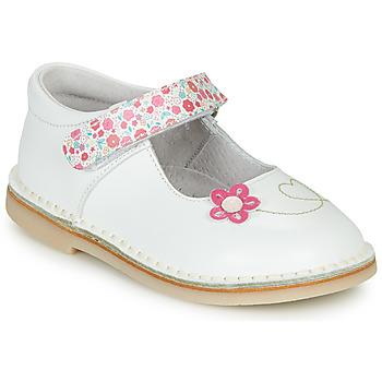 Schuhe Mädchen Ballerinas André ISABELLA Weiss