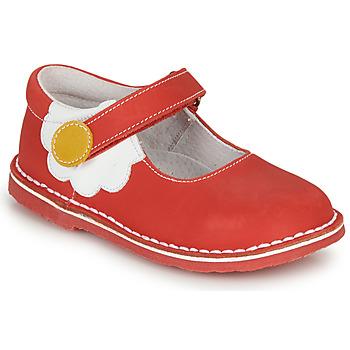 Schuhe Mädchen Ballerinas André PAQUERETTE Rot