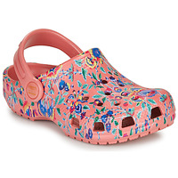 Schuhe Damen Pantoletten / Clogs Crocs LIBERTY LONDON X CLASSIC LIBERTY GRAPHIC CLOG K Rose