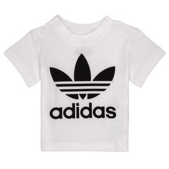 Kleidung Kinder T-Shirts adidas Originals MAELYS Weiss