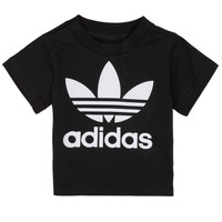 Kleidung Kinder T-Shirts adidas Originals MARGOT Schwarz