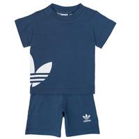 Kleidung Jungen Kleider & Outfits adidas Originals CYLIA Blau