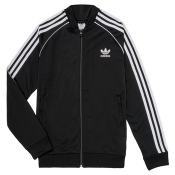 Kleidung Kinder Trainingsjacken adidas Originals LYAM Schwarz