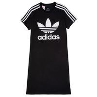 Kleidung Mädchen Kurze Kleider adidas Originals SALOME Schwarz