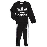 Kleidung Kinder Kleider & Outfits adidas Originals LOKI Schwarz