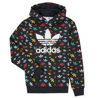 Kleidung Mädchen Sweatshirts adidas Originals DLIA Schwarz