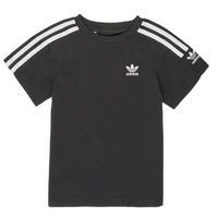 Kleidung Jungen T-Shirts adidas Originals MINACHE Schwarz