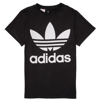 Kleidung Kinder T-Shirts adidas Originals MAXENCE Schwarz