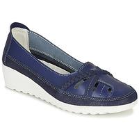 Schuhe Damen Slipper Damart MILANI Marine