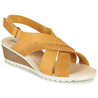 Schuhe Damen Sandalen / Sandaletten Damart MAYLO Gelb