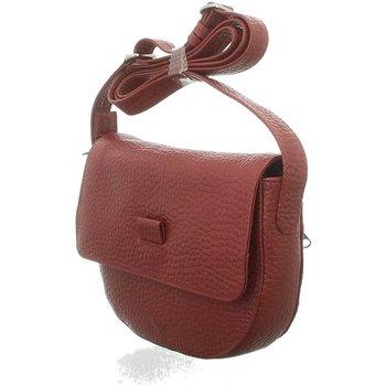 Taschen Damen Handtasche Voi Leather Design Mode Accessoires 21940 GRANAT braun
