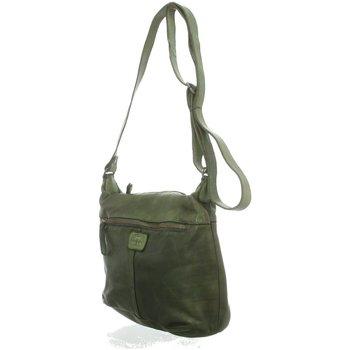 Taschen Damen Handtasche Bear Design Mode Accessoires CL 36419 L. OLIJF GROEN oliv