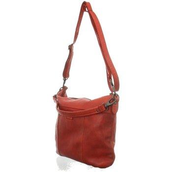 Taschen Damen Handtasche Bear Design Mode Accessoires CL 35658 ROOD rot