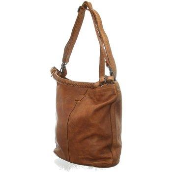 Taschen Damen Handtasche Bear Design Mode Accessoires CL 32851 COGNAC braun