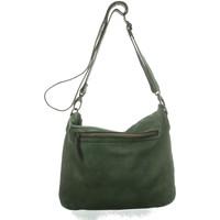 Taschen Damen Handtasche Bear Design Mode Accessoires CL 35658 L. OLIJF GROEN oliv