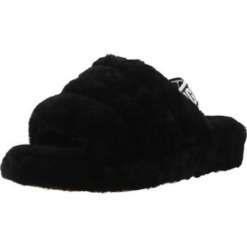 Schuhe Damen Hausschuhe UGG FLUFF YEAH Schwarz