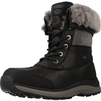 Schuhe Damen Schneestiefel UGG UFF ADIRONDACK BOOT Schwarz