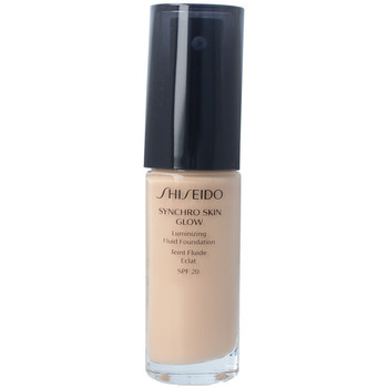 Beauty Damen Make-up & Foundation  Shiseido Synchro Skin Glow Luminizing Fluid Foundation n3 30 ml