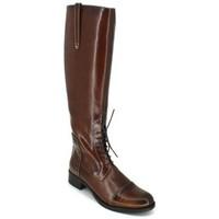 Schuhe Damen Klassische Stiefel Luis Gonzalo 4932M Botas de Montar de Mujer Braun