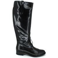 Schuhe Damen Klassische Stiefel Luis Gonzalo 4932M Botas de Montar de Mujer Schwarz