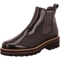 Schuhe Damen Stiefel Paul Green Stiefeletten 9654-005 schwarz
