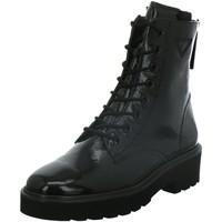 Schuhe Damen Stiefel Paul Green Stiefeletten 9581 schwarz