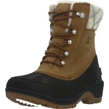 Schuhe Damen Schneestiefel Sorel WHISTLER MID Brown