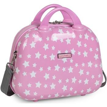 Taschen Damen Kosmetiktasche Itaca Sternen Rosa