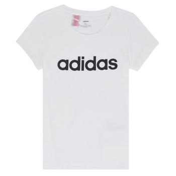 Kleidung Mädchen T-Shirts adidas Performance NELIZO Weiss