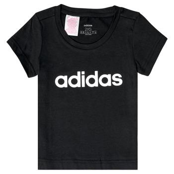 Kleidung Mädchen T-Shirts adidas Performance NATRAZ Schwarz